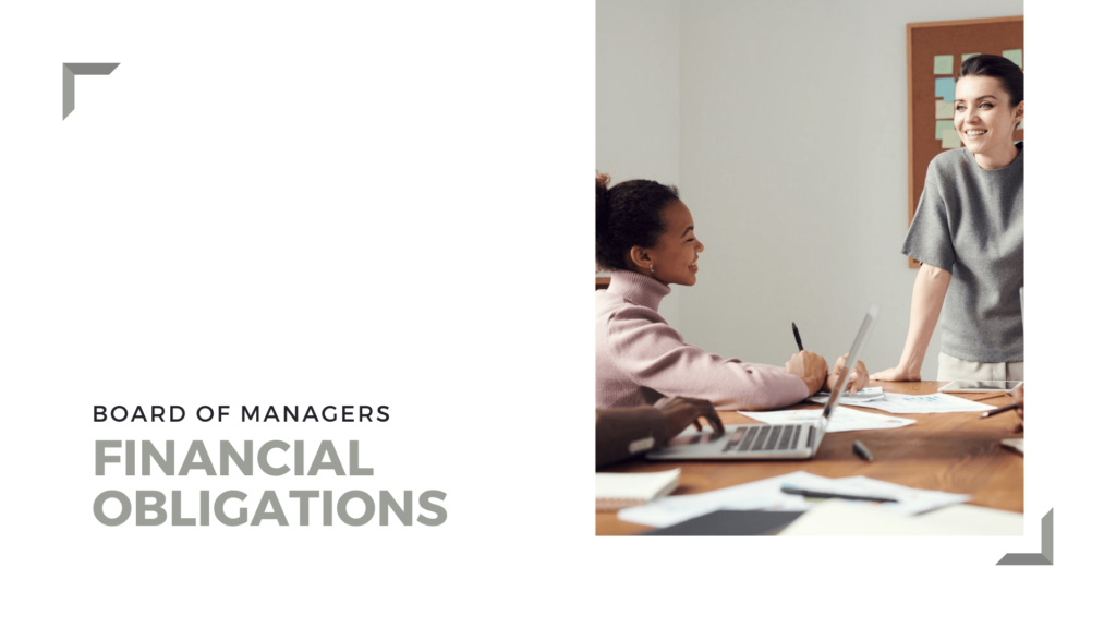 What are the Financial Obligations of a Building's Board of Managers Harlem Property Management - article banner